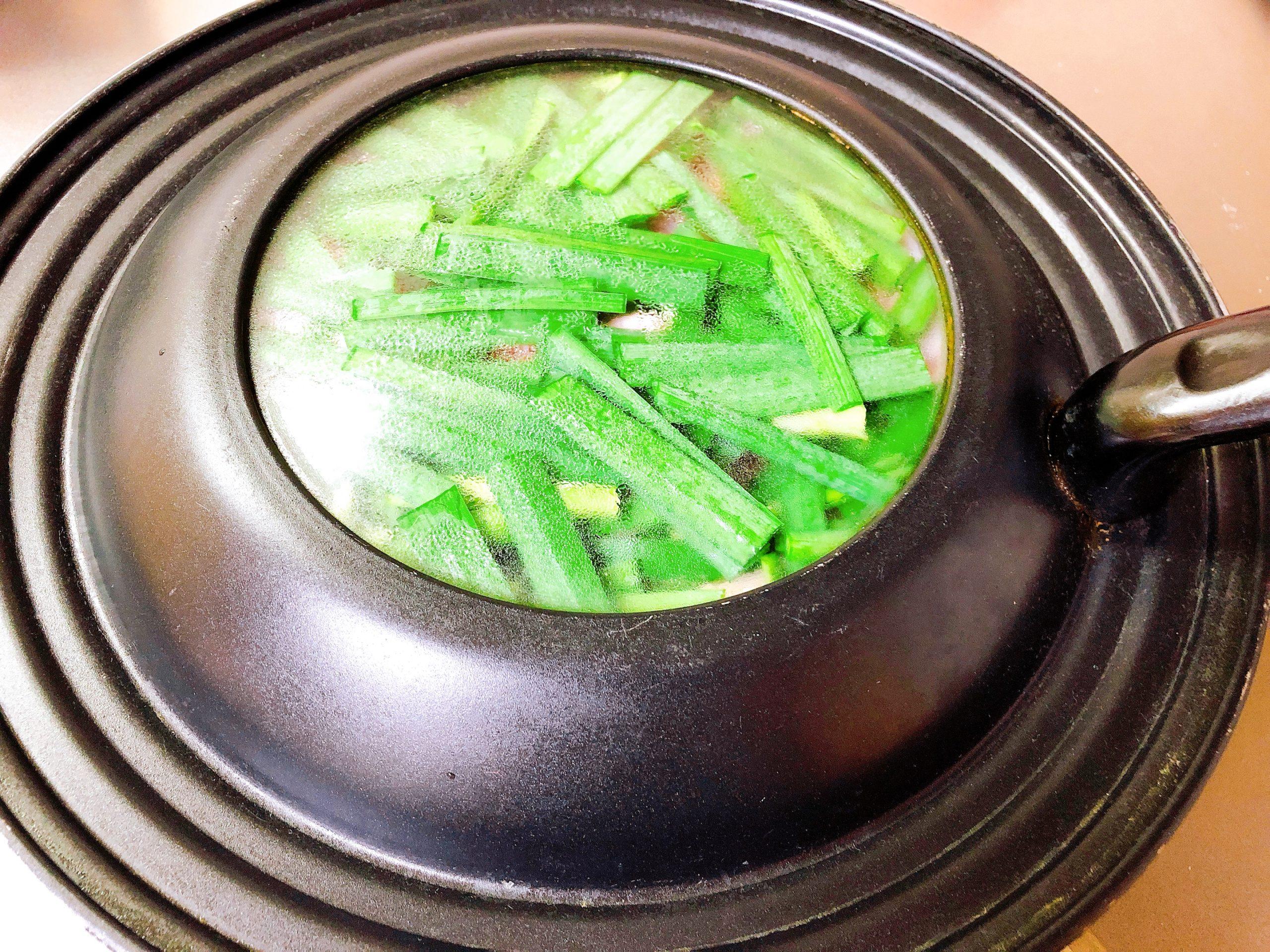 温野菜蒸し中