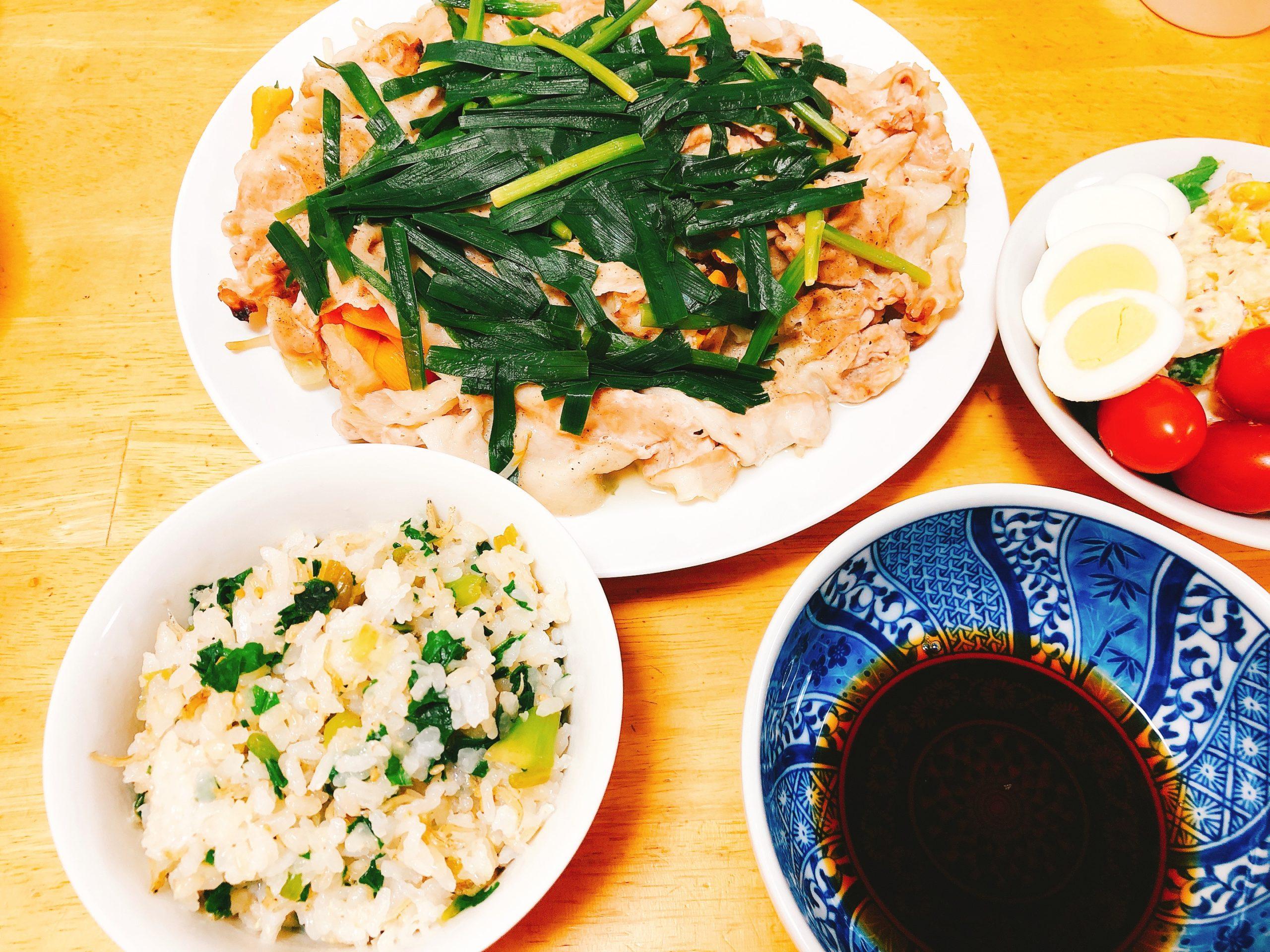 温野菜夕食