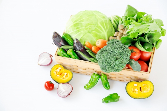 緑黄色野菜いろいろ