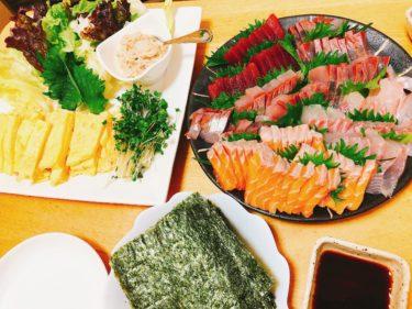家族で楽しむ手巻き寿司の具は、子供の好きなネタと栄養効果から大体これ。