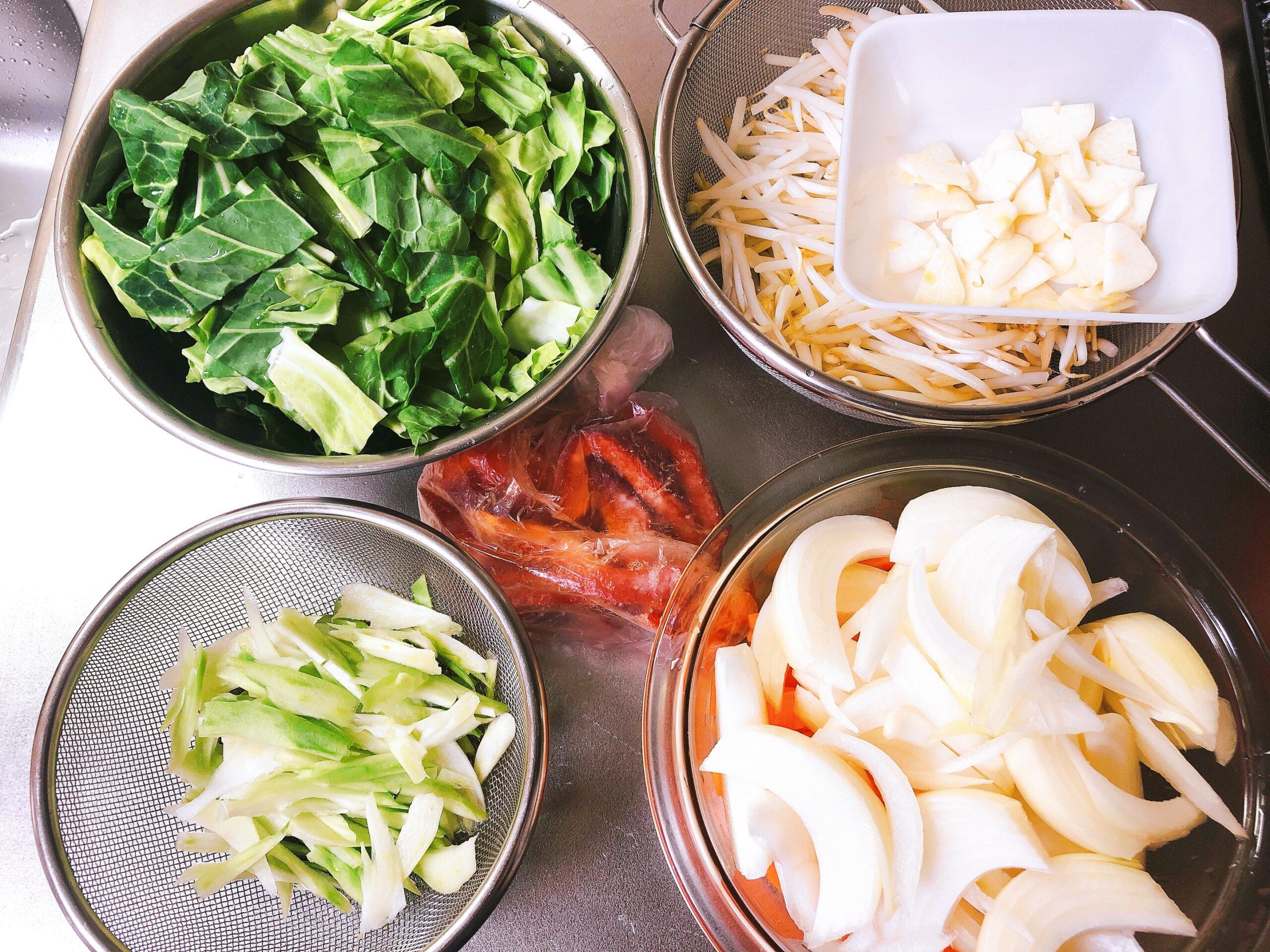 野菜炒め具材