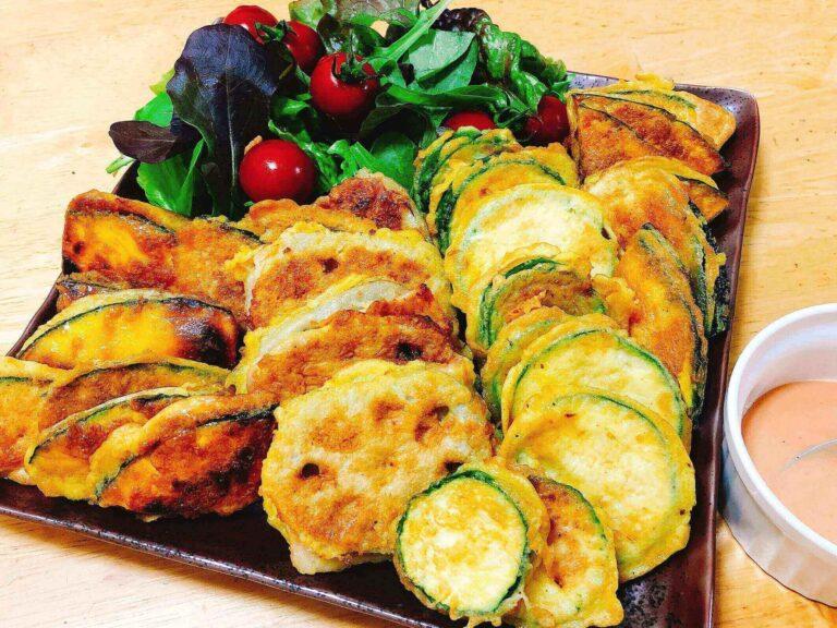 野菜のピカタ