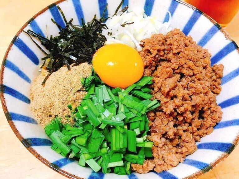 台湾まぜそばの中華麺のタレ