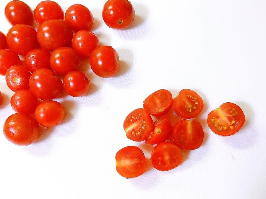 ミニトマトカット