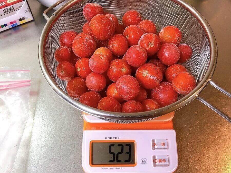 ミニトマト大量消費