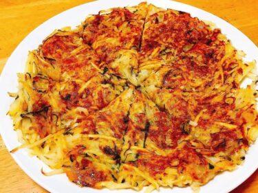 カリカリもっちり、止まらないほど美味しい「じゃがツナチーズガレット」レシピ。