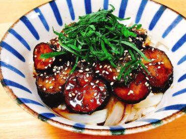 安くて簡単、めっちゃ旨、何度も食べたい!「なす丼」レシピ。