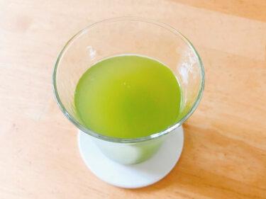 粉末緑茶、薄め